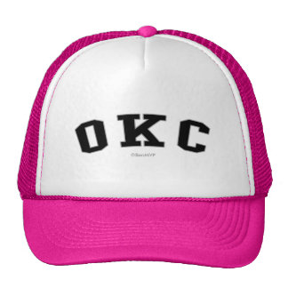 OKC TRUCKER HAT