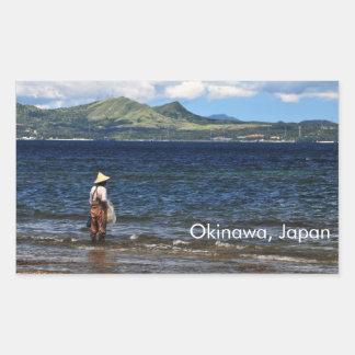 Okinawan Fisherman Sticker