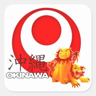 Okinawan Shisa Sticker