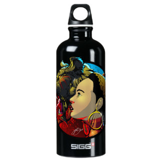 Okira with Cinder Water Bottle
