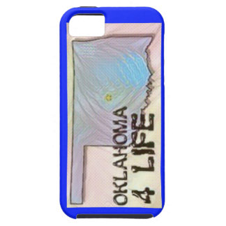 """Oklahoma 4 Life"" State Map Pride Design Case For The iPhone 5"