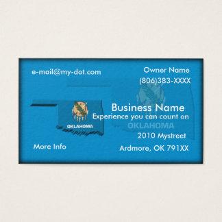 Oklahoma Business Card