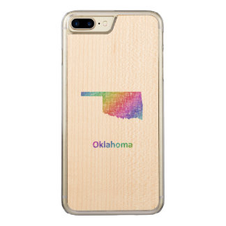 Oklahoma Carved iPhone 7 Plus Case