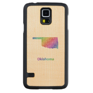 Oklahoma Carved Maple Galaxy S5 Case