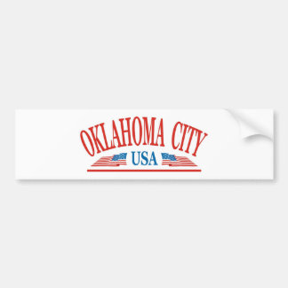 Oklahoma City Bumper Sticker