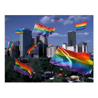 Oklahoma City Flying Pride Postcard