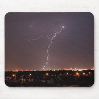 Oklahoma City Lightning Mouse Pad