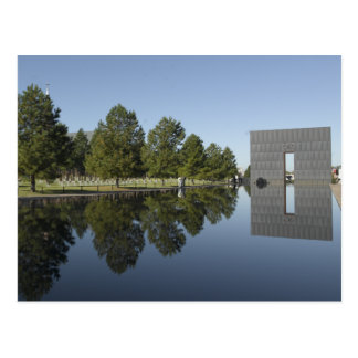 Oklahoma City National Memorial, Reflecting Pool Postcard