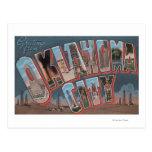 Oklahoma City, Oklahoma (Oil Fields) Post Card