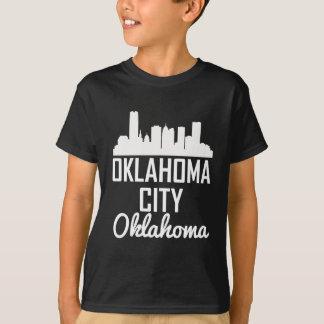 Oklahoma City Oklahoma Skyline T-Shirt