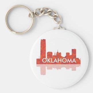 OKLAHOMA CITY SKYLINE - Keychain