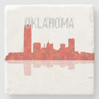 OKLAHOMA CITY SKYLINE - Stone Beverage Coasters