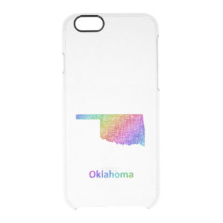 Oklahoma Clear iPhone 6/6S Case