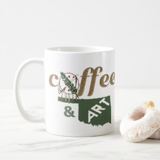 Oklahoma - coffee & art coffee mug