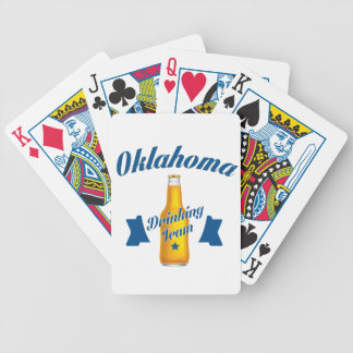 Oklahoma Drinking team Bicycle Playing Cards
