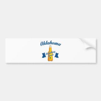 Oklahoma Drinking team Bumper Sticker