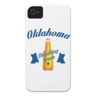 Oklahoma Drinking team Case-Mate iPhone 4 Cases