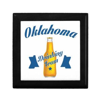 Oklahoma Drinking team Jewelry Boxes