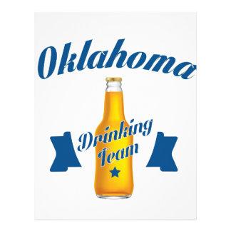 Oklahoma Drinking team Letterhead