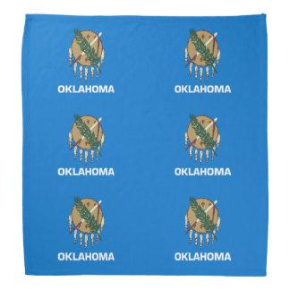 Oklahoma flag bandana