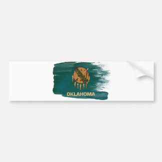 Oklahoma Flag Bumper Sticker
