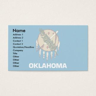 Oklahoma Flag Business Card