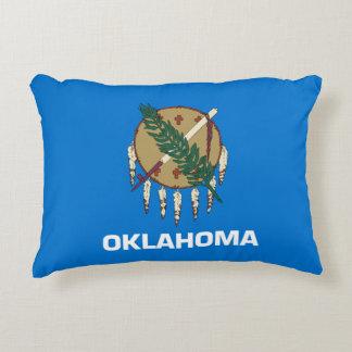 Oklahoma Flag Decorative Pillow