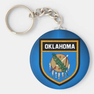 Oklahoma Flag Keychain