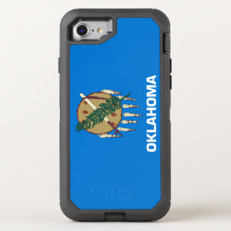 Oklahoma Flag OtterBox Defender iPhone 8/7 Case