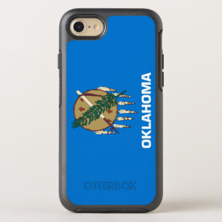 Oklahoma Flag OtterBox Symmetry iPhone 8/7 Case