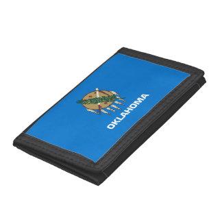 Oklahoma Flag Tri-fold Wallet