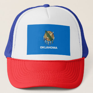 Oklahoma Flag Trucker Hat