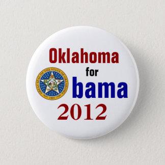 Oklahoma for Obama 2012 2 Inch Round Button