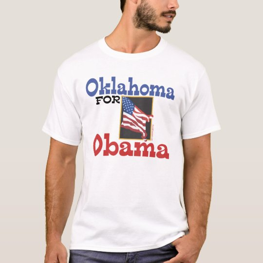 Oklahoma for Obama T-shirts