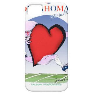 oklahoma head heart, tony fernandes iPhone 5 case