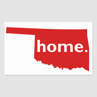 Oklahoma Home Sticker