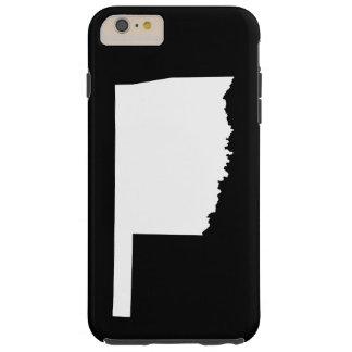 Oklahoma in White and Black Tough iPhone 6 Plus Case