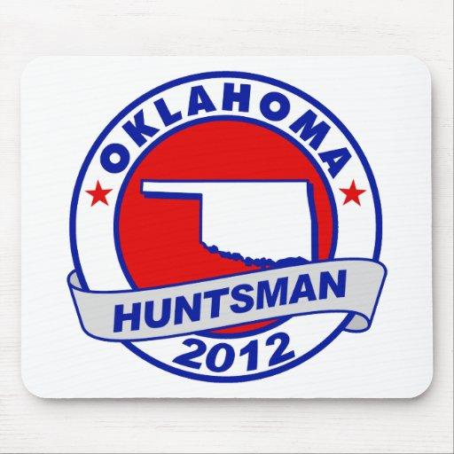 Oklahoma Jon Huntsman Mousepad