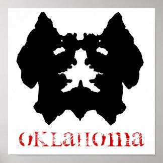 OKLAHOMA Kiamichi Monster Poster