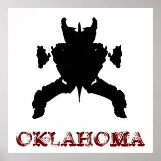 OKLAHOMA: Kiamichi Monster Poster