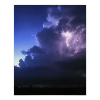 Oklahoma Lightning Poster
