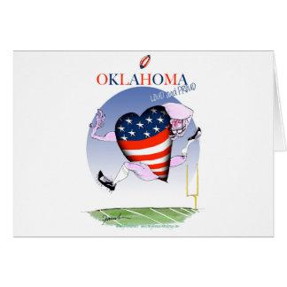 oklahoma loud and proud, tony fernandes card