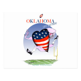 oklahoma loud and proud, tony fernandes postcard