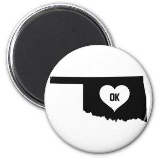 Oklahoma Love Magnet