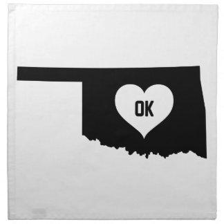 Oklahoma Love Napkin