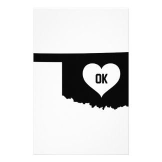 Oklahoma Love Stationery
