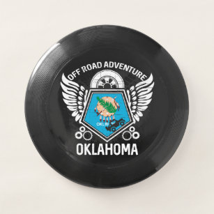 Oklahoma Off Road Adventure 4x4 Trails Mudding Wham-O Frisbee
