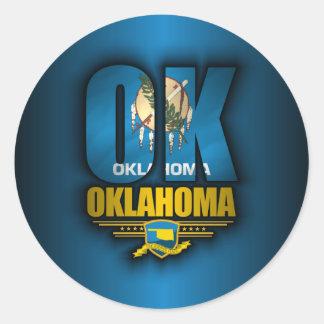 Oklahoma (OK) Classic Round Sticker