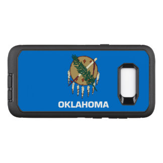 Oklahoma OtterBox Defender Samsung Galaxy S8+ Case