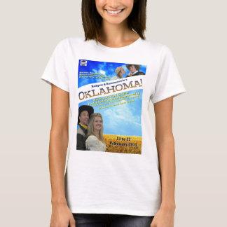 Oklahoma Poster Ladies Shirt